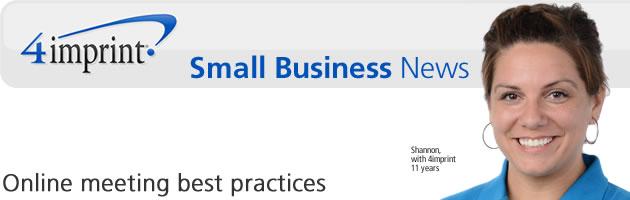 Online meeting best practices