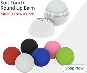 Soft Touch Round Lip Balm